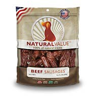 Natural Value® Beef Sausages 14oz