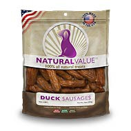 Natural Value® Duck Sausages 14oz