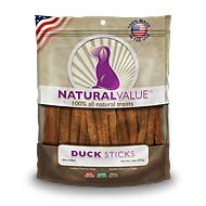Natural Value® Duck Meat Sticks 14oz