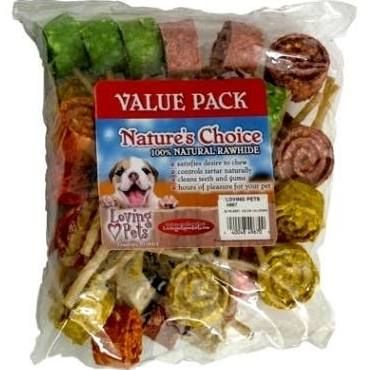 Rawhide Lollipop Asst 20ct pack