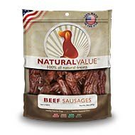 Natural Value® Beef Sausages 14oz