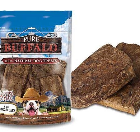 Buffalo Lung Steaks 8oz