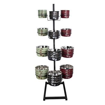 Bella Bowl Display Rack 48pc