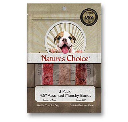 "4.5"" Munchy Bones 3pk"