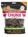 Natural Beef Lung CHUNX Peanut Butter 1lb