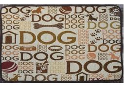 """Place Mat """"Dog""""/Neutral"""