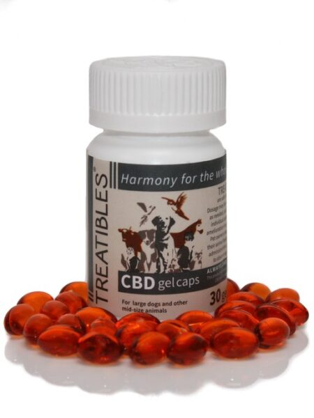 CBD Capsules 10mg (30 gel caps)