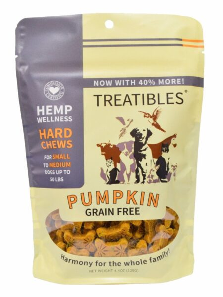 Pumpkin GrainFree Chews - Sml dog 1mg (6 oz)