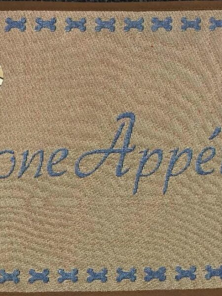 Bone Appetit Fashion Mat