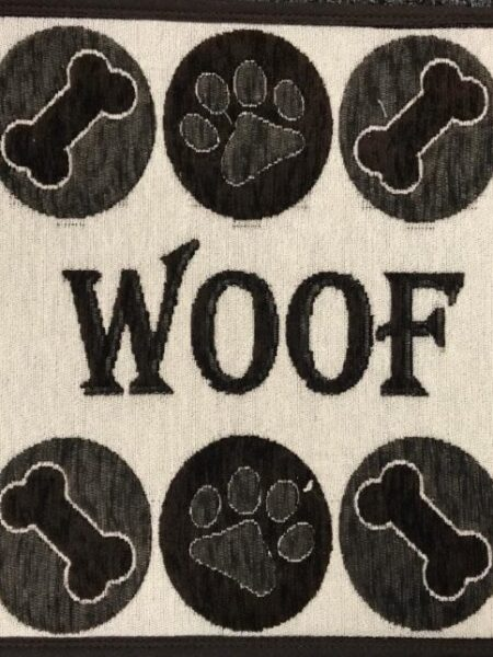 Woof Chenille Fashion Mat