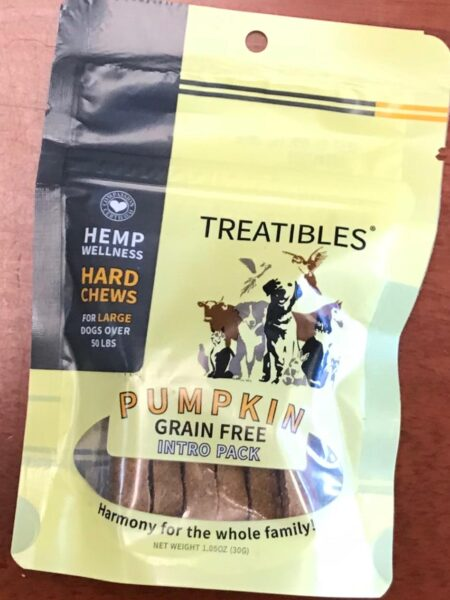 Pumpkin - INTRO - Grain Free Chews Lg Dog 4mg