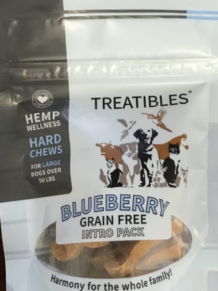Blueberry - INTRO_ Grain Free Chews - Lg dog 4mg