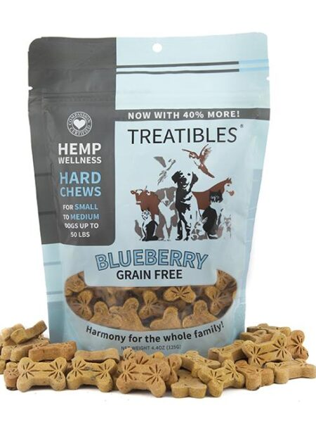 Blueberry Grain Free Chews - Sml dog 1mg (6 oz)