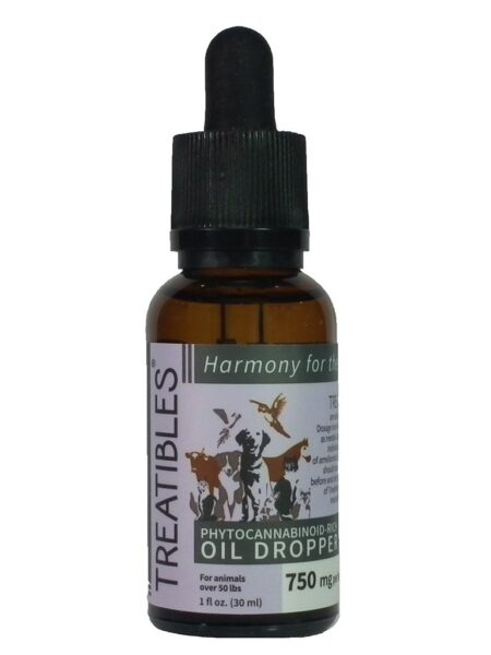 CBD 1500mg Oil Dropper Bottle with Coconut Oil