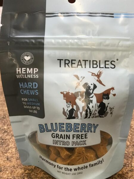 Blueberry - INTRO - GrainFree Chews-Sml dog 1mg (12ct)