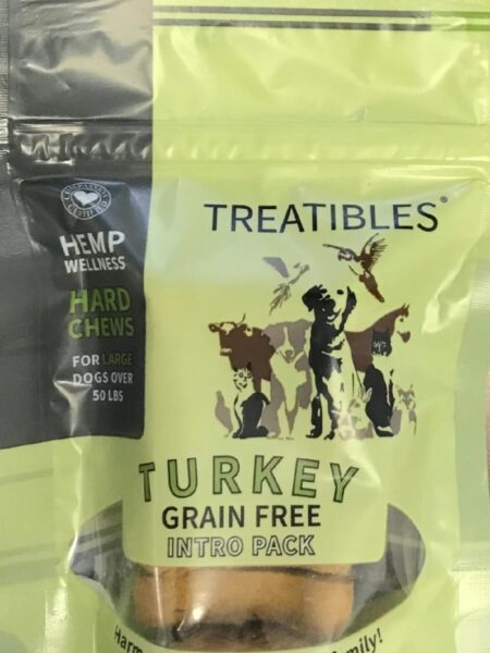 Turkey - INTRO- Grain Free Chews - Lg dog 4mg