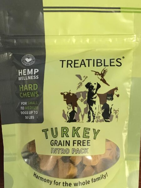 Turkey - INTRO - Grain Free Chews - Sml dog 1mg
