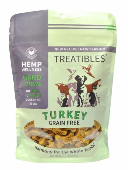 Turkey Grain Free Chews - Sml dog 1mg (6 oz)