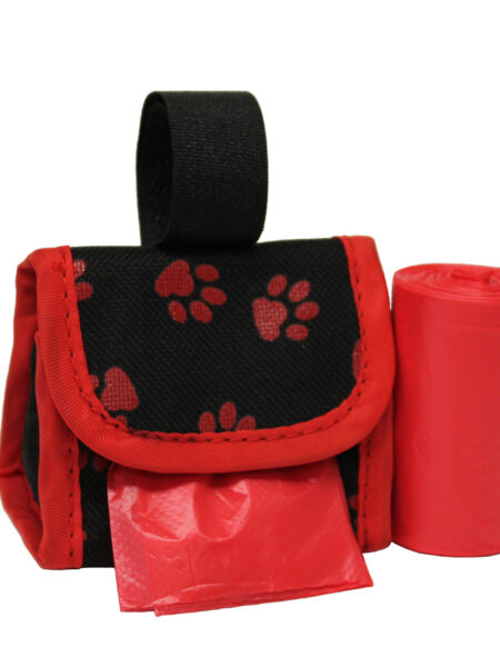 Waste Bag Dispenser - Red Paws