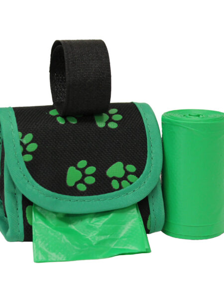 Waste Bag Dispenser - Green Paws