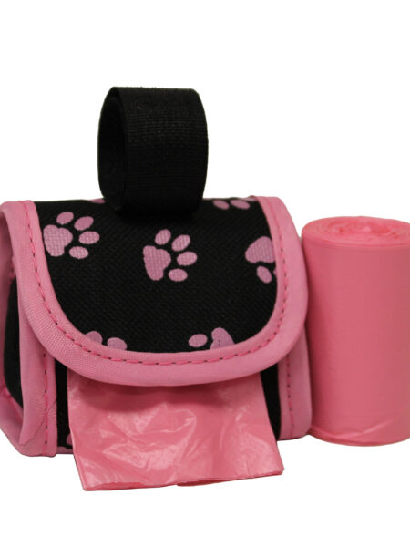 Waste Bag Dispenser - Pink Paws