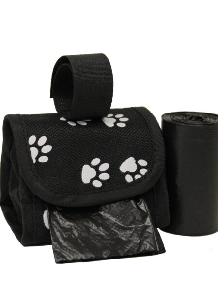 Waste Bag Dispenser - White Paws