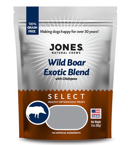 Jones Natural Chews Wild Boar Exotic Blend