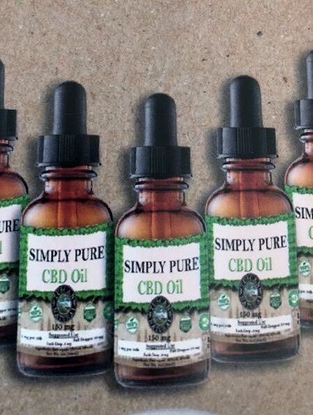 NEW CBD OIL from Simply Pure-100/200/500