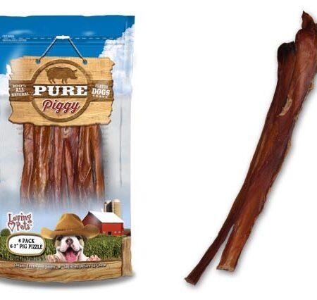 "Pure Pig Pizzle 6-7"" (6Pk/48cs)"