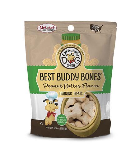 Best Buddy Bones-PB Flavor 5.5oz/12cs