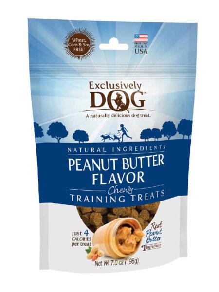 Chewy Training Treats-PB Flavor 7oz/12cs