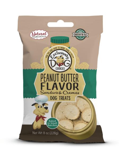 Sandwich Cremes PB Flavor 8oz/12cs