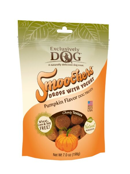 Smoochers Yogurt Drops Pumpkin Flavor 7oz/12cs