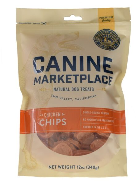 CANINE MARKETPLACE CHICKEN CHIPS 12OZ