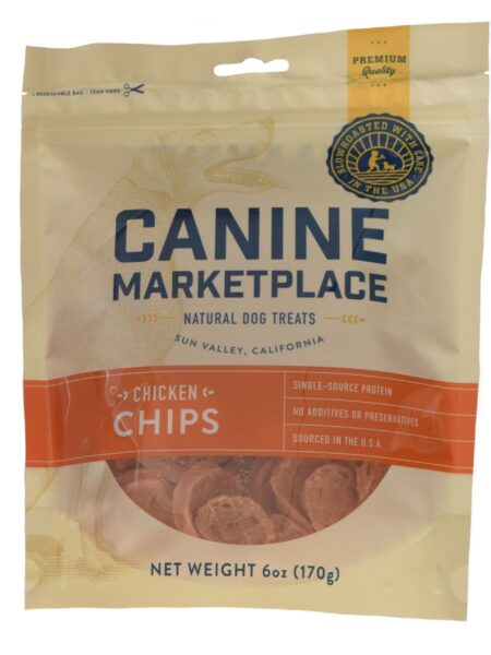 CANINE MARKETPLACE CHICKEN CHIPS 6OZ