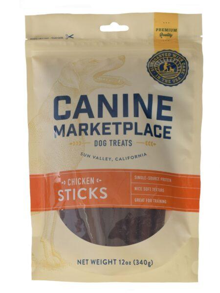 CANINE MARKETPLACE CHICKEN STICKS 12OZ