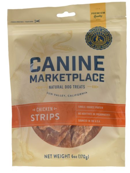 Canine Marketplace Chicken Strips 6oz