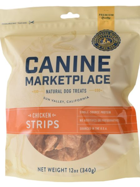 Canine Marketplace Chicken Strips 12oz