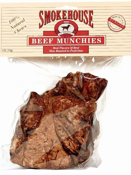 Beef Munchies 4oz Pack