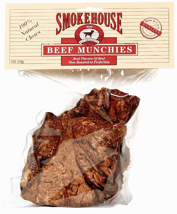 Beef Munchies 4oz Pack