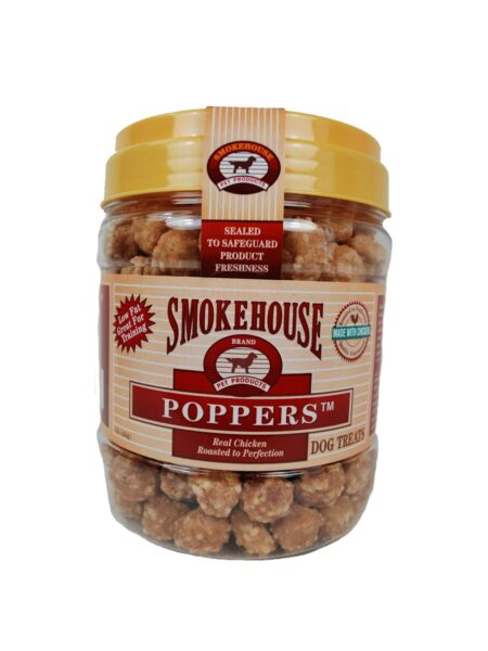 Chicken Poppers 1lb Jar