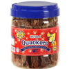 Quackers Duck Breast 1LB Canister