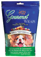Apple & Chicken Wraps 8oz