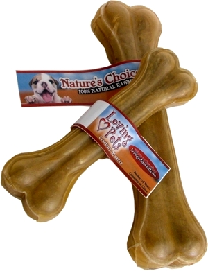 4 inch Pressed Rawhide Bone