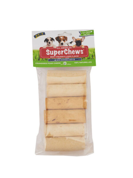 All American Super Chews Beef, Liver & Chicken