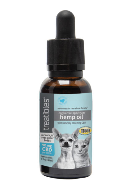 Full Spectrum Hemp Oil 90mg for Dogs and Cats